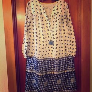 Boden Peasant Dress